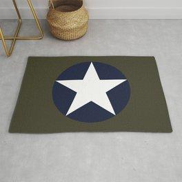 USAAF Roundel Rug