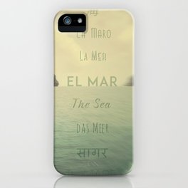 La Maro iPhone Case