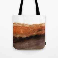 Watercolor abstract landscape 21 Tote Bag