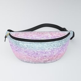 Unicorn Girls Glitter #11 #shiny #pastel #decor #art #society6 Fanny Pack
