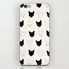 Cat Pattern iPhone & iPod Skin