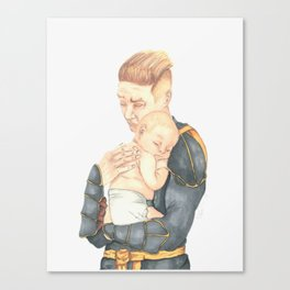 #3: Shhhh, the baby is sleeping Canvas Print