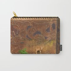 Deer Sheltering in the Storm Carry-All Pouch