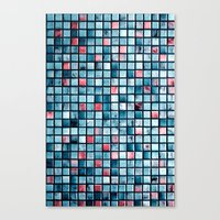 square Canvas Prints featuring square by Claudia Drossert