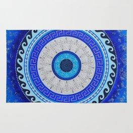 Greek Style Mandala Rug