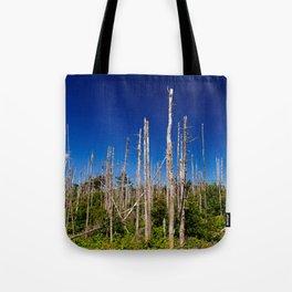 Cape Breton Seaside Treescape Tote Bag