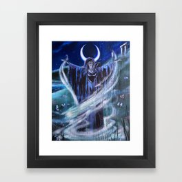 Macha: Celtic Warrior Goddess Framed Art Print