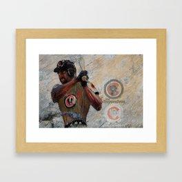 zombie dawson Framed Art Print