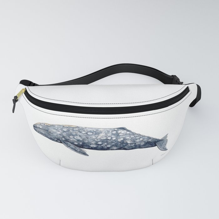 Grey whale Fanny Pack