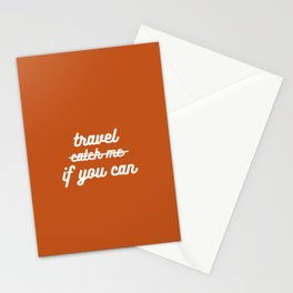 travel if you can Stationery Cards
