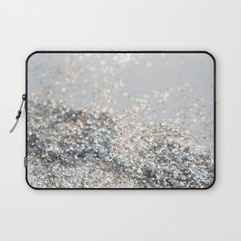 Silver Gray Glitter #2 #shiny #decor #art #society6 Laptop Sleeve