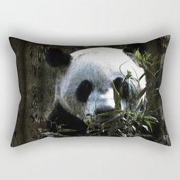 Chinese Giant Panda Bear Rectangular Pillow
