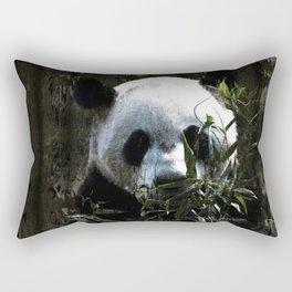Chinese Giant Panda Bear Rectangular Pillow