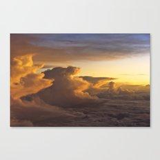 Clouds Over Mallorca Canvas Print