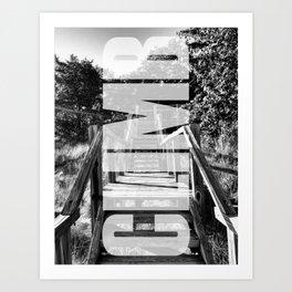 CLIMB - Motivational Art Print