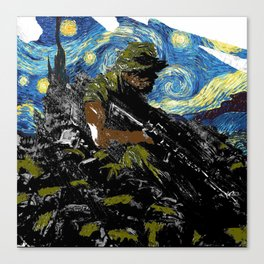 The Silent Soldier 2 Canvas Print
