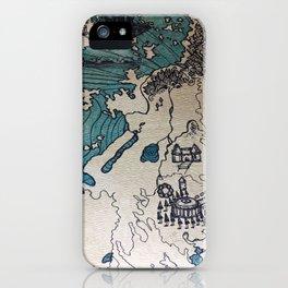 Lost Treasure iPhone Case