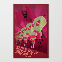 Join the Armada - Invader Zim Canvas Print