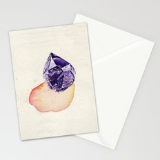 Amethyst Splash Stationery Cards