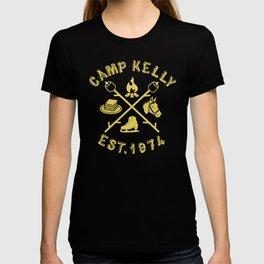 Camp Kelly Gold T-shirt
