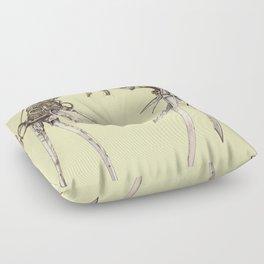 Scissorhands(Antique) Floor Pillow