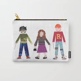 Harry, Hermione, and Ron Carry-All Pouch