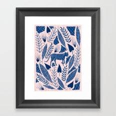 Camouflage Framed Art Print