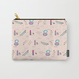 Lipstick and Blush Carry-All Pouch