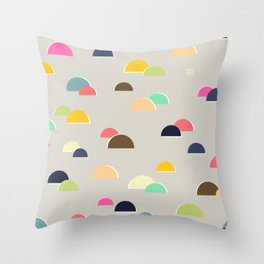 Happy Hills Throw Pillow