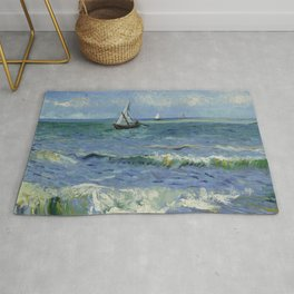 Seascape near Les Saintes-Maries-de-la-Mer Rug