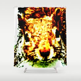 The other faces of Squirrel 1 Shower Curtain