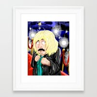 amy sia Framed Art Prints featuring Sia Marsh by Eric Holopainen