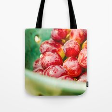 Red Grapes Tote Bag