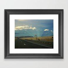 Life Is A Highway Framed Art Print