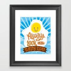sunny side up! Framed Art Print