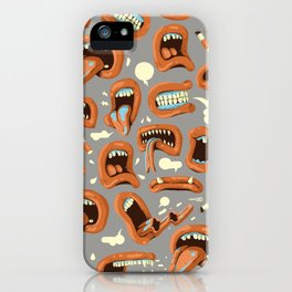 Gossips iPhone Case