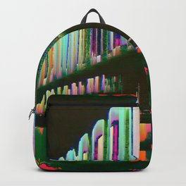 Dominos in the Sky with Rainbows Backpack