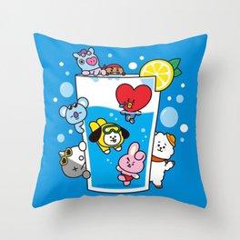 Kawaii Dive Throw Pillow
