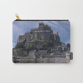 Mont saint michel france normandy Carry-All Pouch