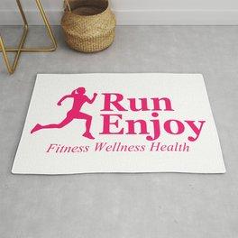Run and enjoy Rug