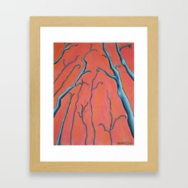 Red Maria Framed Art Print