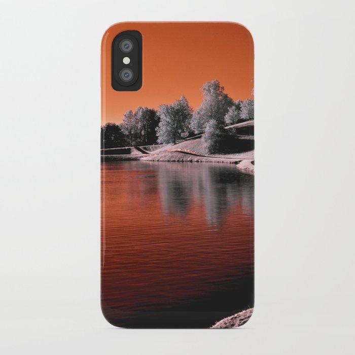 Infrared Sunrise iPhone Case