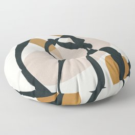 Abstract Shapes 35 Floor Pillow
