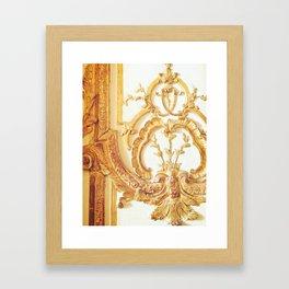 Gold Trimmings Framed Art Print