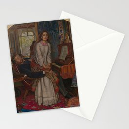 William Holman Hunt - The Awakening Conscience Stationery Cards