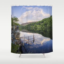 Peace At The Lake Shower Curtain