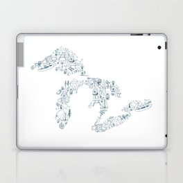 Great Lakes Up North Collage Laptop & iPad Skin