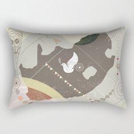 South Africa Soaring Rectangular Pillow