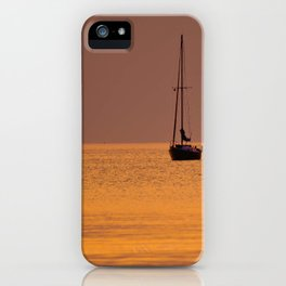 Sailboat iPhone Case