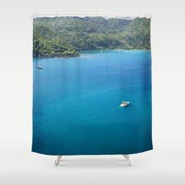 Labadee Haiti Shower Curtain